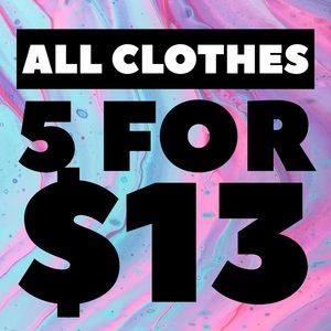 All Plus size and adult clothes